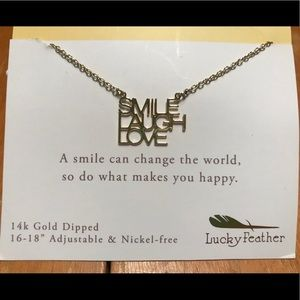 Jewelry - Smile Laugh Love Necklace